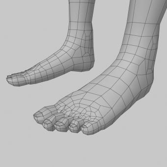 FeetWireframe